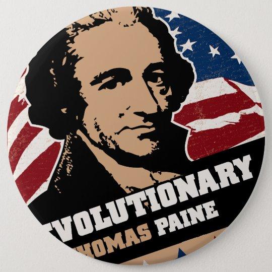 Thomas Paine Revolutionary Button
