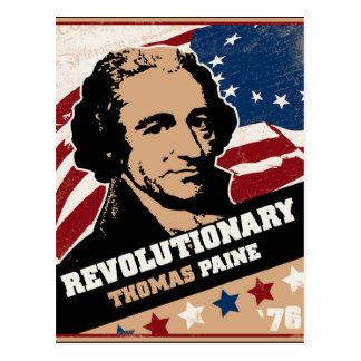 Thomas Paine Revolutionary Postcards