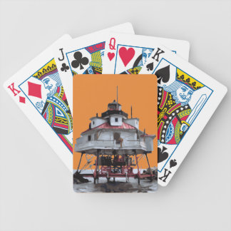 THOMAS POINT LIGHT BICYCLE PLAYING CARDS