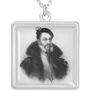 Thomas Radclyffe  3rd Earl of Sussex Silver Plated Necklace