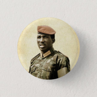 Thomas Sankara - Burkina Faso - African President 3 Cm Round Badge