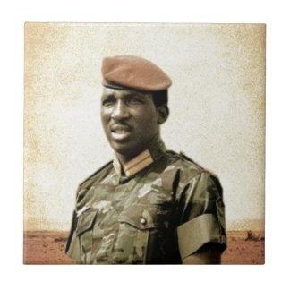 Thomas Sankara - Burkina Faso - African President Tile