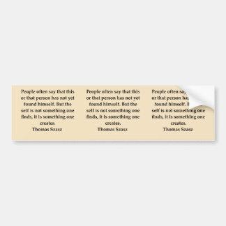 thomas szasz bumper sticker