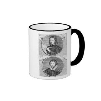 Thomas Tallis and William Byrd Ringer Coffee Mug