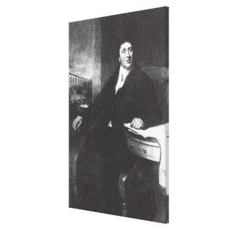 Thomas Telford, 1831 Canvas Print