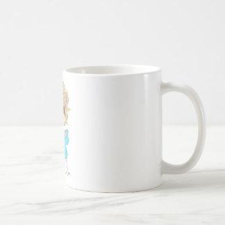 Thomas the Lion Classic White Coffee Mug