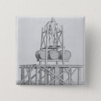 Thomas Topham 15 Cm Square Badge