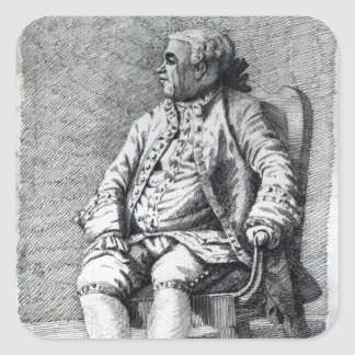Thomas Townshend, 1st Viscount Sydney Square Sticker