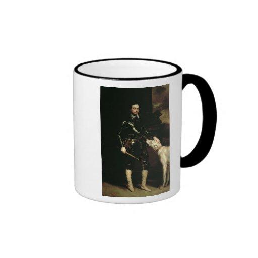 Thomas Wentworth, 1st Earl of Strafford  1633-6 Mug
