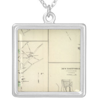 Thomaston PO Silver Plated Necklace