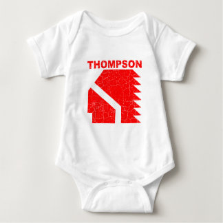 Thompson High School Warriors Baby Bodysuit