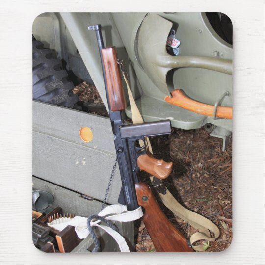 Thompson SMG By Jeep Mouse Mat