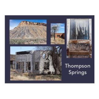 Thompson Springs Modern Ghost Town, Utah Postcard