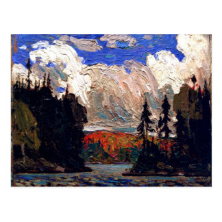 Thomson - Black Spruce in Autumn Postcard