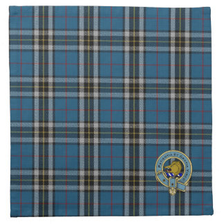 Thomson Clan Tartan Plaid Pattern Napkin