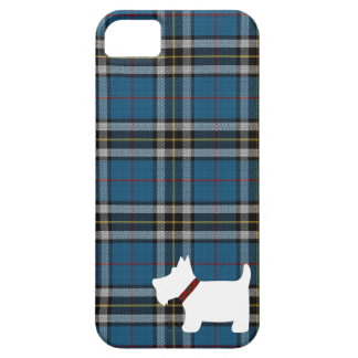 Thomson Dress Tartan Pattern with Scottie Dog Case Case For The iPhone 5