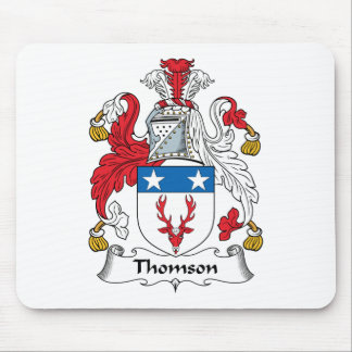 Thomson Family Crest Mouse Pad