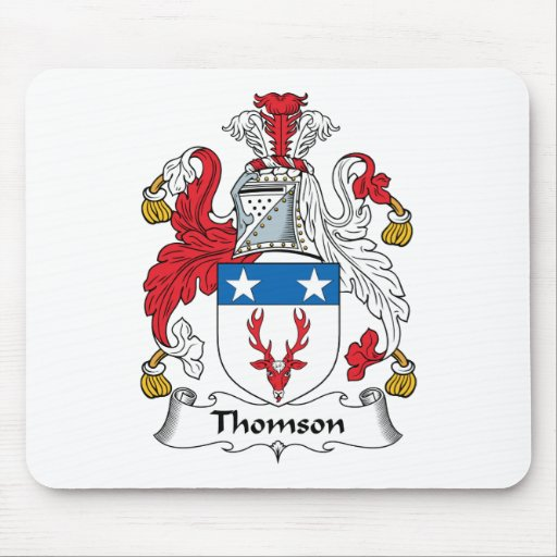 Thomson Family Crest Mouse Mat
