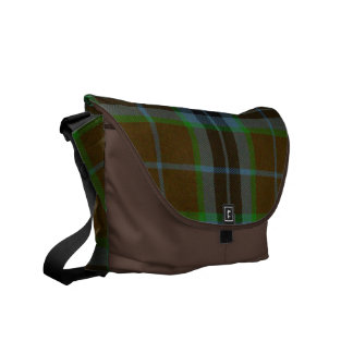 Thomson Tartan Plaid Messenger Bag