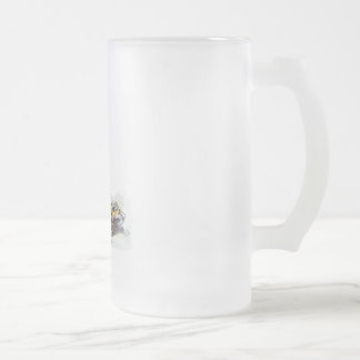 Thor Frosted Glass Beer Mug