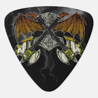 Thor Hammer of the Gods Guitars Guitar Pick