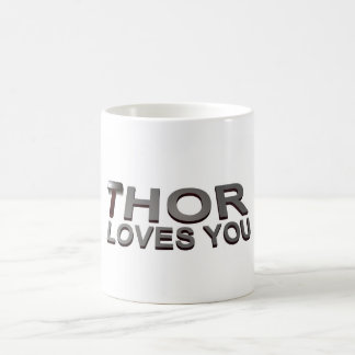 THOR LOVES YOU COFFEE MUG