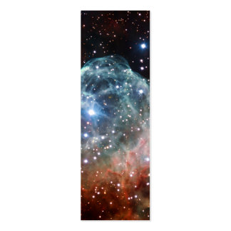 Thor s Helmet Nebula Space Business Card Template
