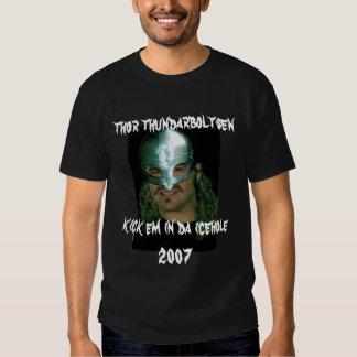 thor thundarboltsen 2007 t shirts
