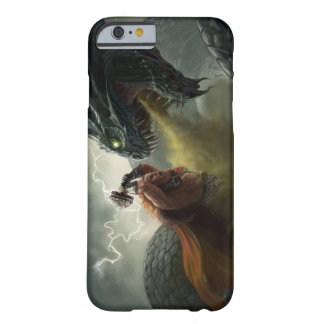 Thor Vs Jormungand iPhone Case