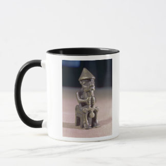 Thor with a hammer, statuette found in Iceland Mug