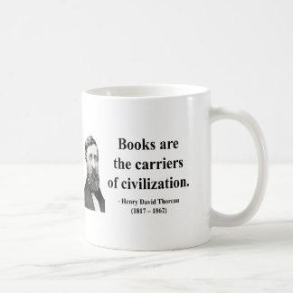 Thoreau Quote 9b Coffee Mug