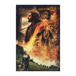 THORIN OAKENSHIELD™ and BAGGINS™ in Erebor Canvas Print
