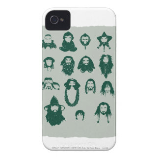 THORIN OAKENSHIELD™ and Company Hair iPhone 4 Case