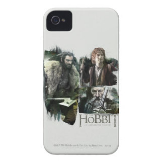 THORIN OAKENSHIELD™, BAGGINS™, and Gandalf Logo iPhone 4 Cover