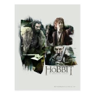THORIN OAKENSHIELD™, BAGGINS™, and Gandalf Logo Postcard