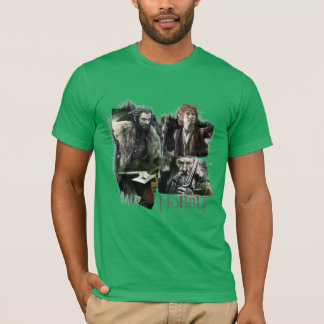 THORIN OAKENSHIELD™, BAGGINS™, and Gandalf Logo T-Shirt