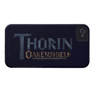 THORIN OAKENSHIELD™ Logo Blue iPhone 4 Case-Mate Case