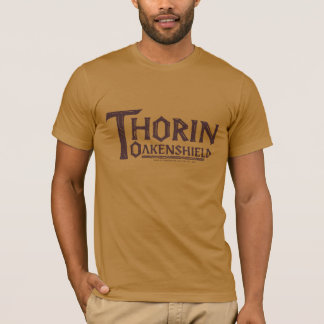 THORIN OAKENSHIELD™ Logo Brown T-Shirt