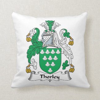 Thorley Family Crest Cushion