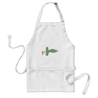 Thorn bush sheet briar leaf aprons