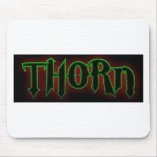 Thorn Original Logo black Mouse Pad