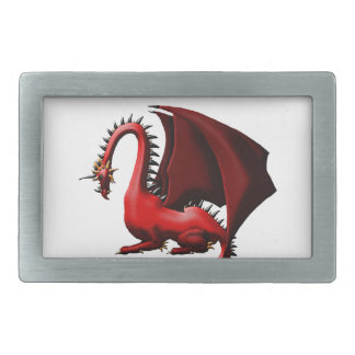 Thorn, the Red Dragon Belt Buckle