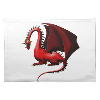Thorn, the Red Dragon Placemat