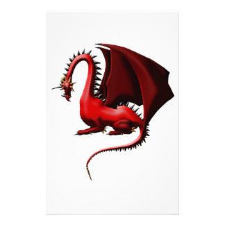 Thorn, the Red Dragon Stationery