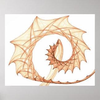 Thorns spiral print