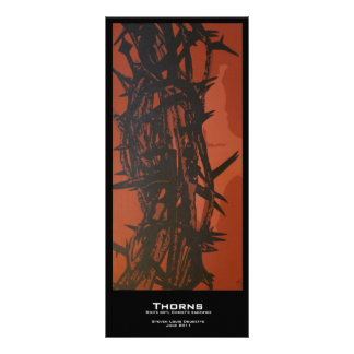 """Thorns"" Value Bookmarks Rack Card"