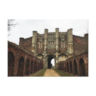 Thornton Abbey Gate House - Heritage & History Canvas Print