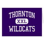 Thornton - Wildcats - High - Harvey Illinois Greeting Card