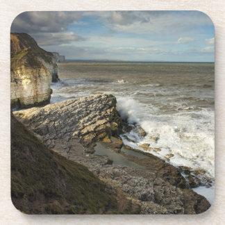 Thornwick Bay in Flamborough souvenir photo Coaster