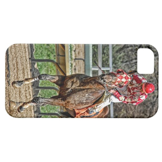 Thoroughbred Gallop Back iPhone 5 Case